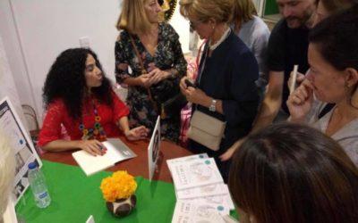 """Presentación del libro """"Cuando mamá lastima"""" Edición España."""